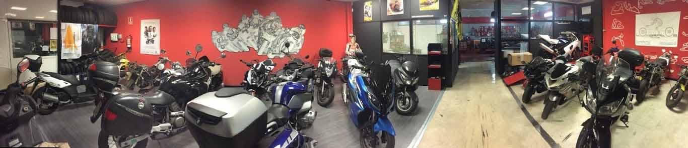 Venta de motos y scooter, Kymco, Daelim, Yamaha, Honda, Suzuki, Kawasaki, Piaggio y Vespa.