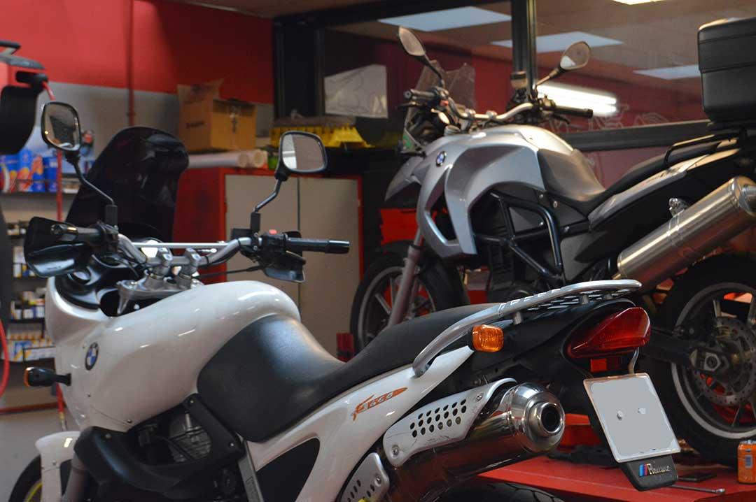 Mantenimiento motos BMW F650 y F800