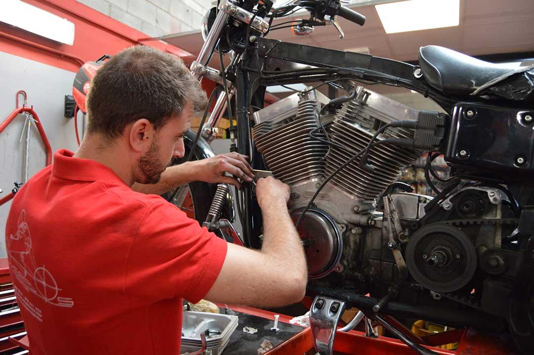 Reparacion de averias Harley Davidson