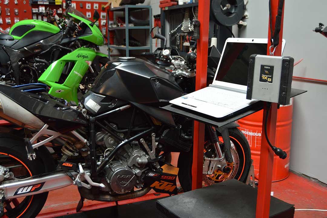Diagnosis para motocicleta