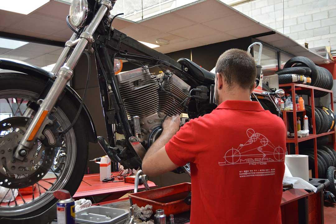 Reparacion Harley davidson