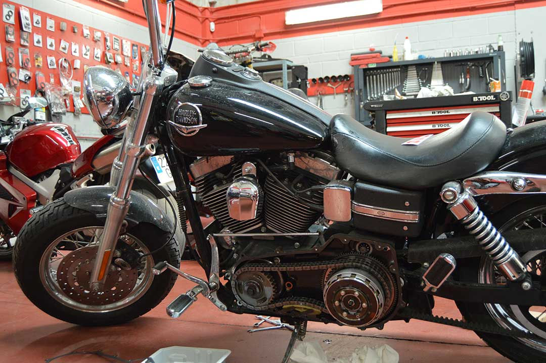 Revision transmision primaria Harley Davidson