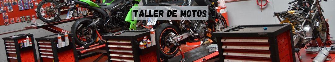 Taller de motos, mantenimiento y reparacion de motos y scooter