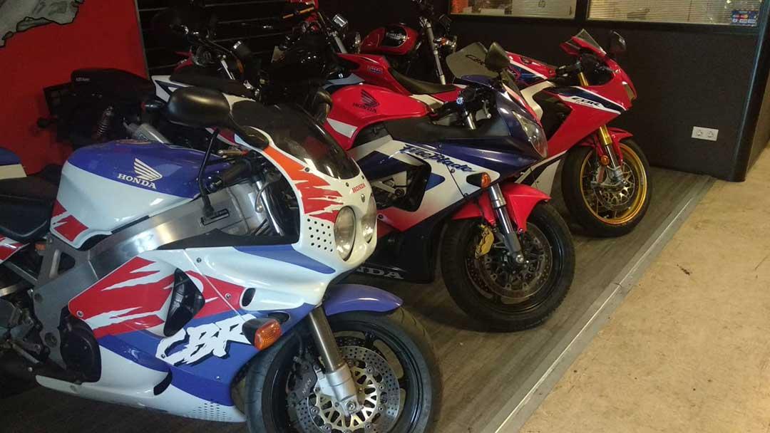 Taller especialista en motos Honda