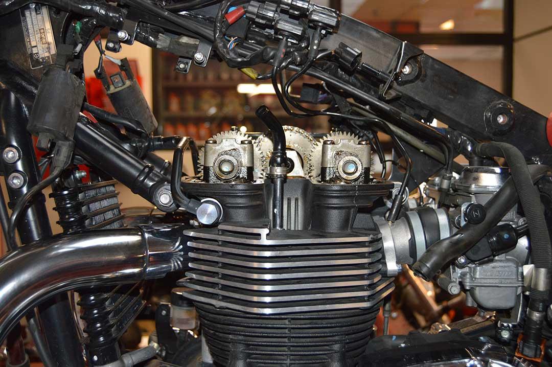 Reparacion moto Triumph