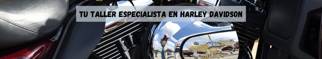 Taller especializado en motos Harley Davidson