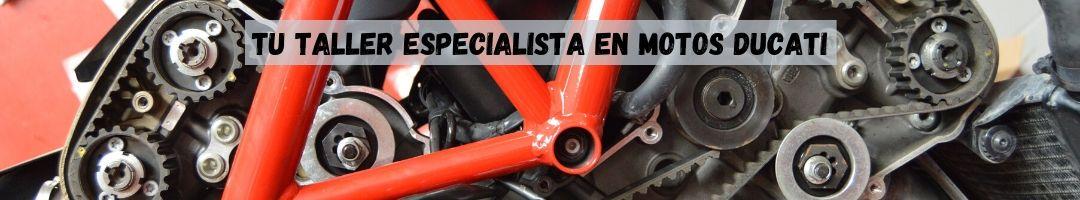 Taller especializado en motos ducati