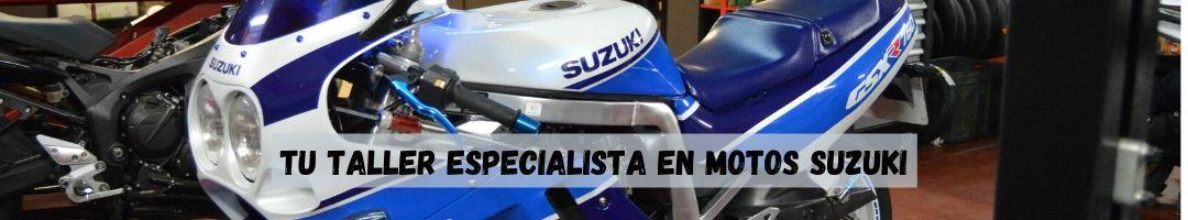 Taller especializado en motos suzuki