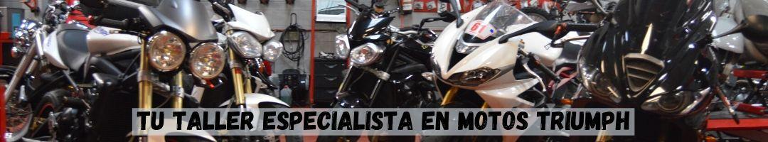 Taller especializado en motos Triumph